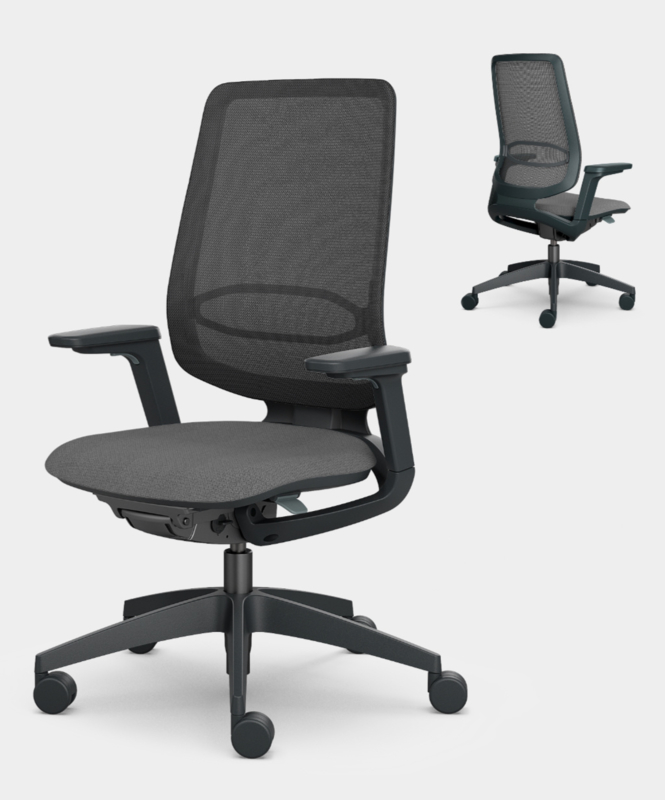 Sedus Se:Flex zwarte bureaustoel