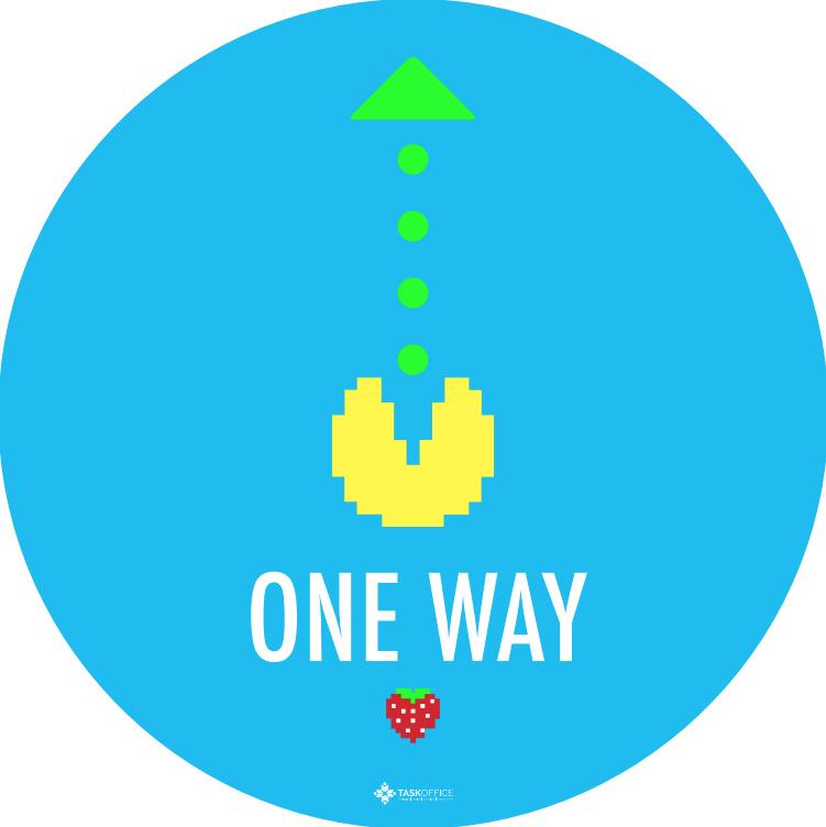 COVID Retro One way (10 stuks)