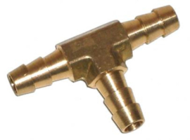 Brandstofslang T-stuk 8mm koper