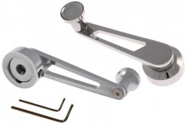4505 Raamslinger recht aluminium