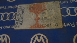 171857501G Buitenspiegel ombouw set links origineel NOS