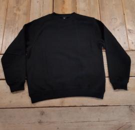 Work Sweater B&C Hero Pro - Zwart - maat L