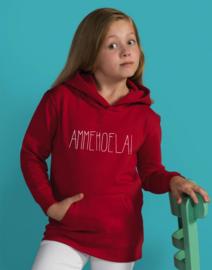 HOODIE AMMEHOELA!