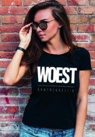 T-shirt Woest Aantrekkelijk