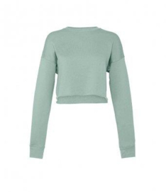 CROPPED SWEATSHIRT YOUR PERCEPTION IS REALITY.