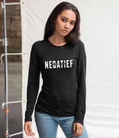 T-SHIRT NEGATIEF IS POSITIEF