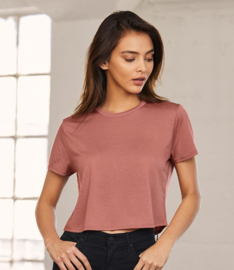 BELLA LADIES CROPPED T-SHIRT