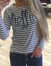 Streep T-shirt Lieffie