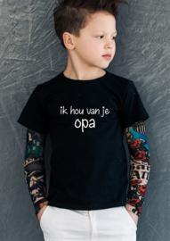 T-shirt Opa ik hou van je (jongen)