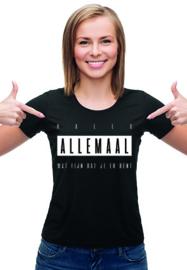 T-shirt | Hallo allemaal