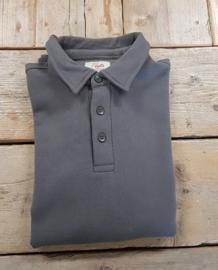 Polosweater Printer Homerun - Staalgrijs - maat L