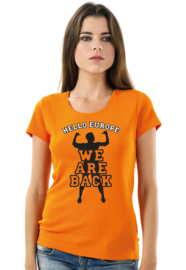T-SHIRT WE ARE BACK 3