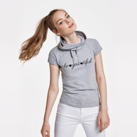 T-shirt met col Be | you | tiful