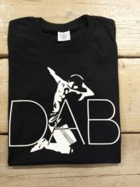SALE T-Shirt heren DAB | Maat M | zwart