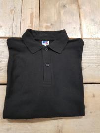 Poloshirt Russell  - Zwart - Maat L