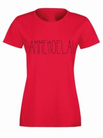 T-shirt Ammehoela!