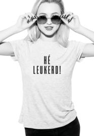 T-shirt LEUKERD!
