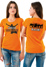 T-SHIRT HELLO EUROPE | WE ARE BACK 1
