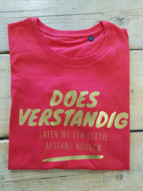 T-shirt  DOES verstandig
