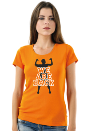 T-SHIRT WE ARE BACK 2