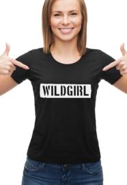 T-shirt WILDGIRL