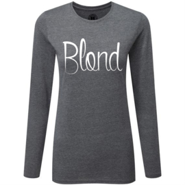 T-shirt (lange mouw) BLOND