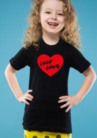 T-shirt  Voor Oma (meisje)