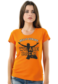 T-SHIRT WE ARE BACK 1