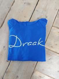 SALE HOODIE DRAAK   MAAT L   ROYAL BLUE