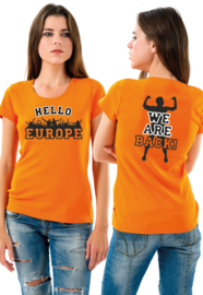 T-SHIRT HELLO EUROPE | WE ARE BACK 2