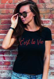 T-shirt Cést la Vie
