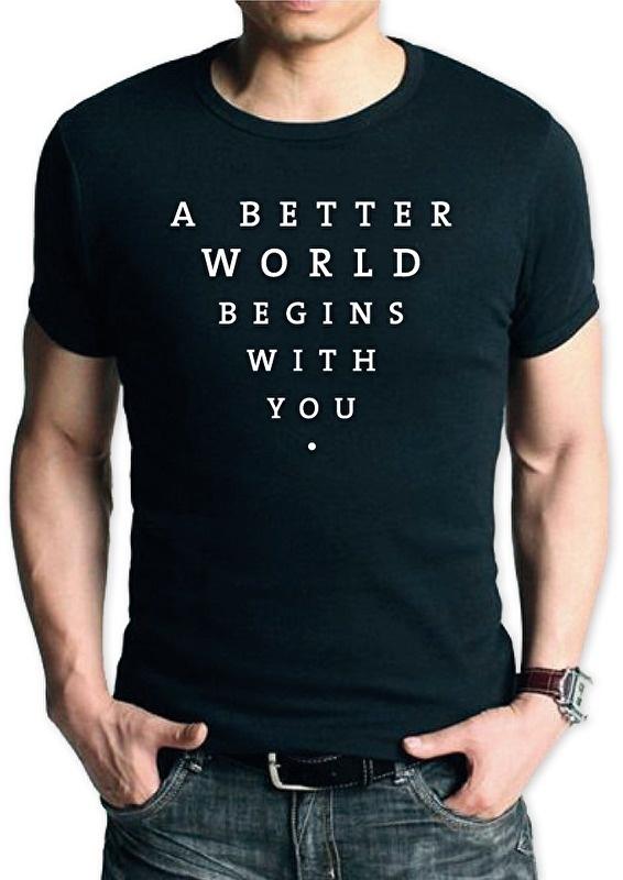 T-shirt Better World | heren
