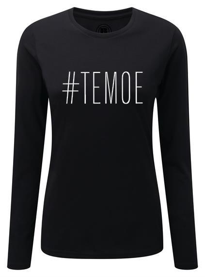 T-shirt (lange mouw) #TEMOE