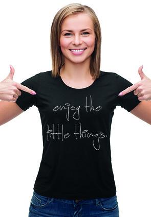 T-shirt Enjoy The Little Things