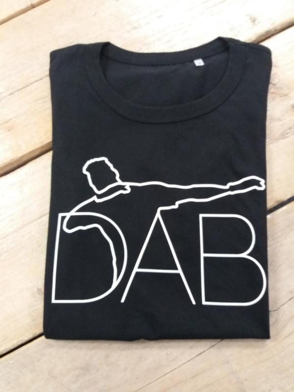 SALE T-Shirt heren Dab 1 | Maat M | zwart