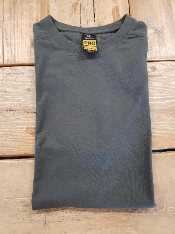 Work T-shirt B&C Perfect Pro - Dark Grey- Maat L