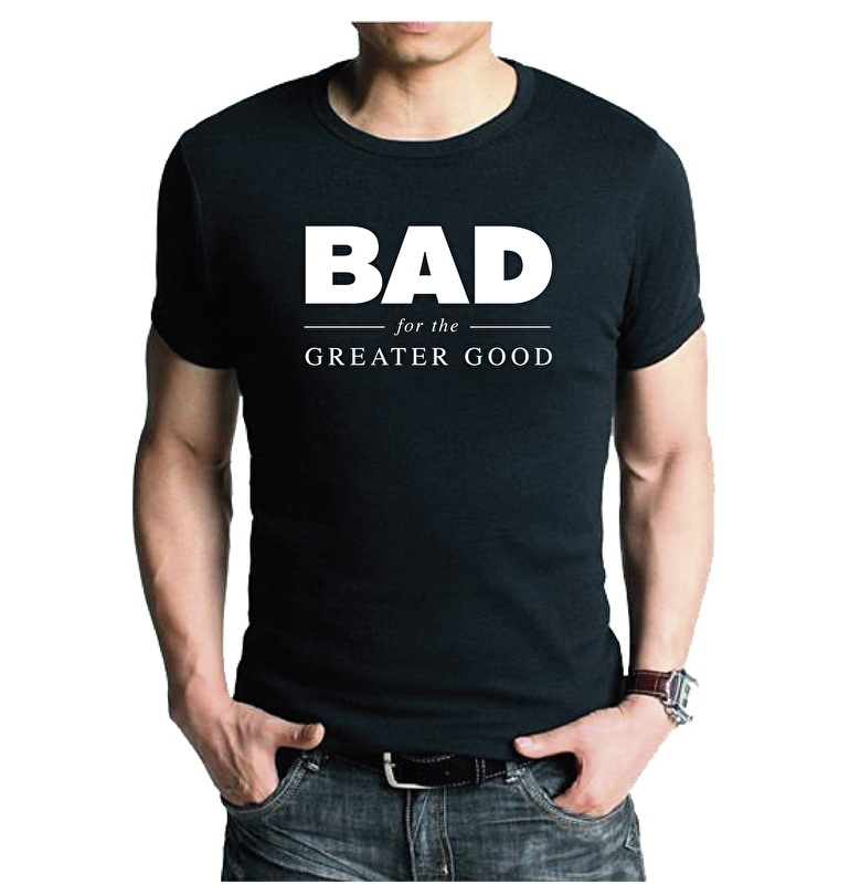 T-shirt BAD | heren