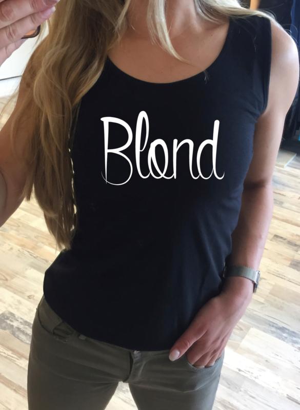 Tanktop Blond