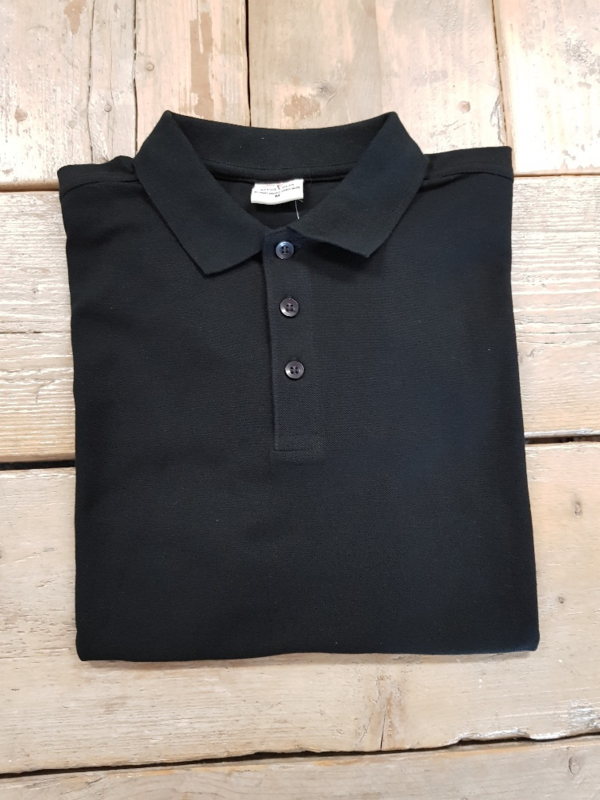 Poloshirt - Zwart - Maat S