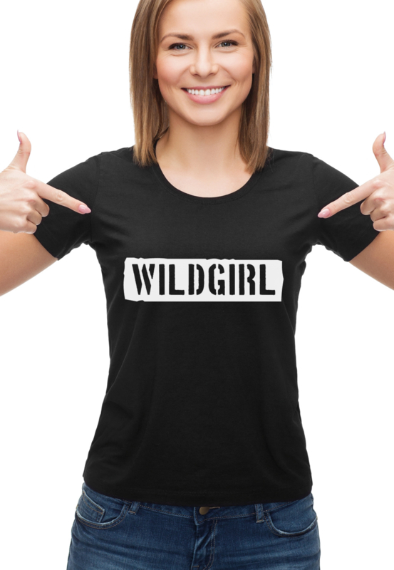 T-shirt WILDGIRL