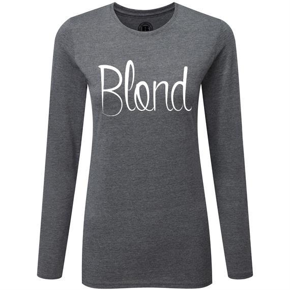 T-shirt (lange mouw) BLOND