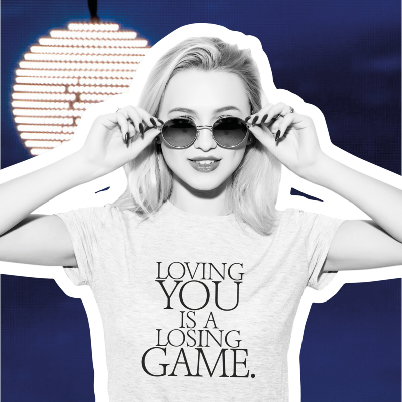 T-shirt Loving you