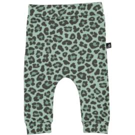 BROEKJE- Baggy Leopard Groen