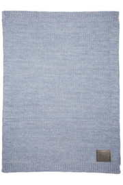 Woezel & Pip ledikantdeken- Woezel blauw
