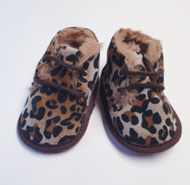 SCHOENTJES: Babyschoentjes Leopard