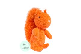 KNUFFEL - eekhoorn oranje