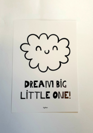 A4 Poster- Dream Big