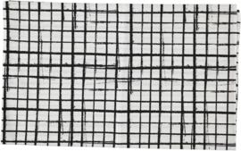 DEKBEDOVERTREK: Sketched grid