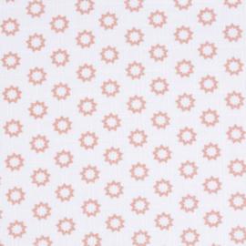 LÄSSIG- Set Hydrofiele katoenen swaddles Little Chums Star Light Pink maat L