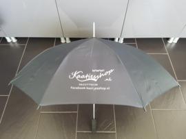 Paraplu met bedrijfs logo